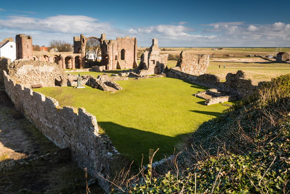 Ruine Kloster Lindisfarne